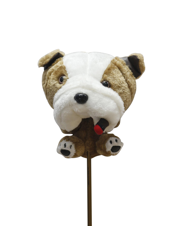 Bulldog head cover 1