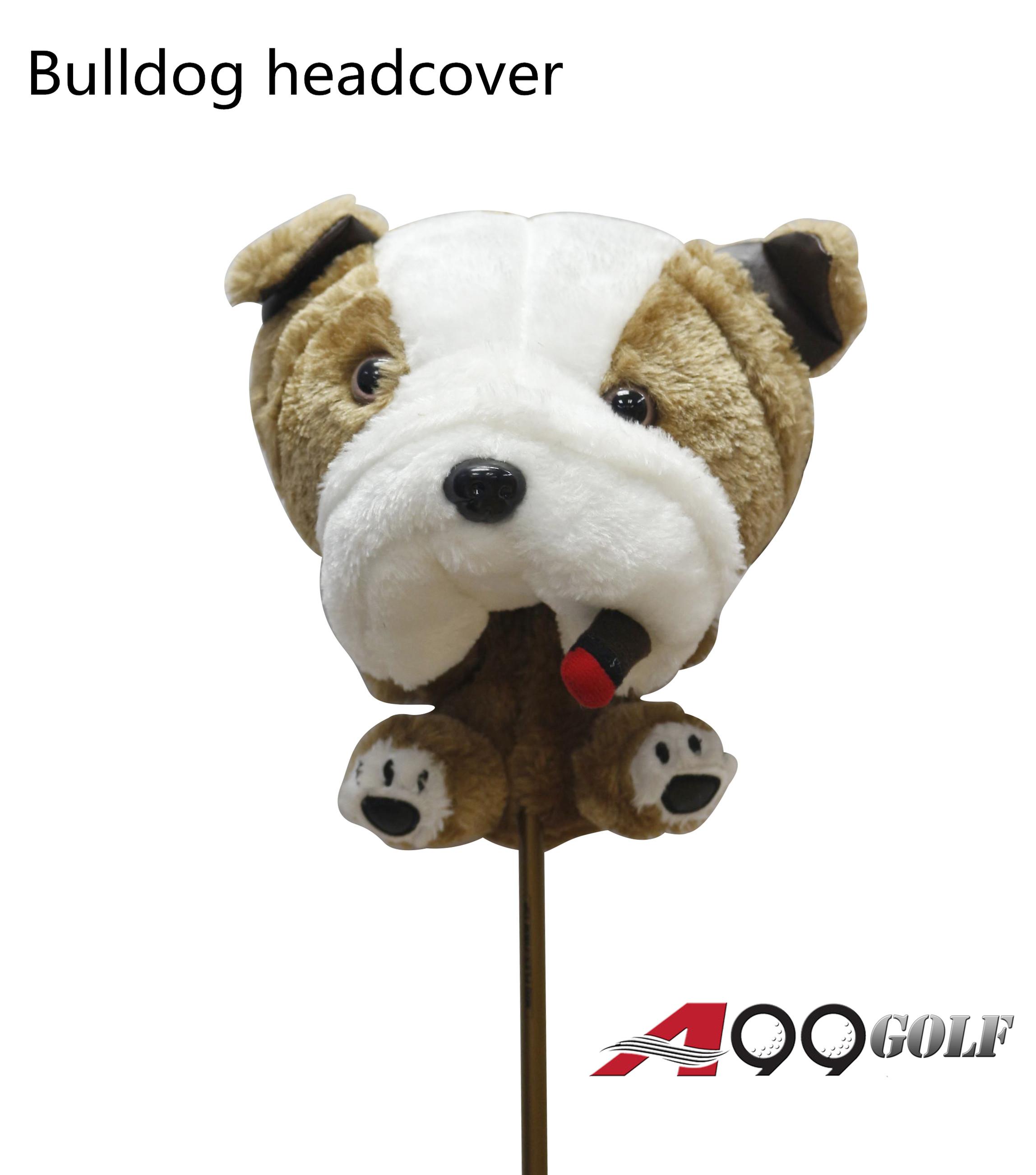Bulldog head cover
