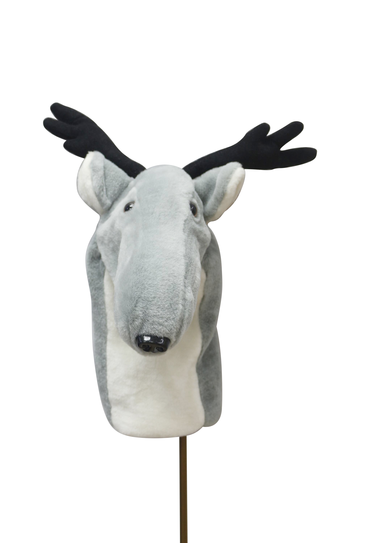 Gray Deer head cover 3