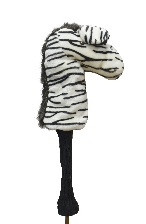 Zebra head cover 1